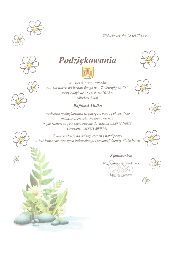 Referencje Gmina Widuchowa