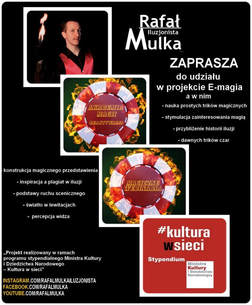 Iluzjonista Rafał Mulka