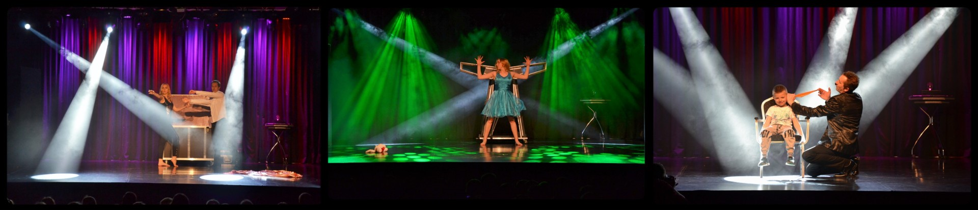 Magiczne show w centrum kultury