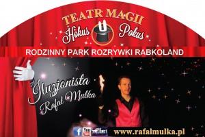 teatr magii iluzjonista Rafał Mulka