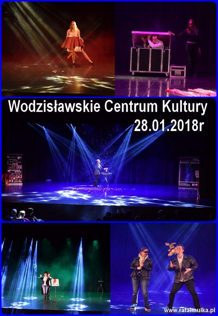 magic show iluzjonista centrum kultury wodzislaw