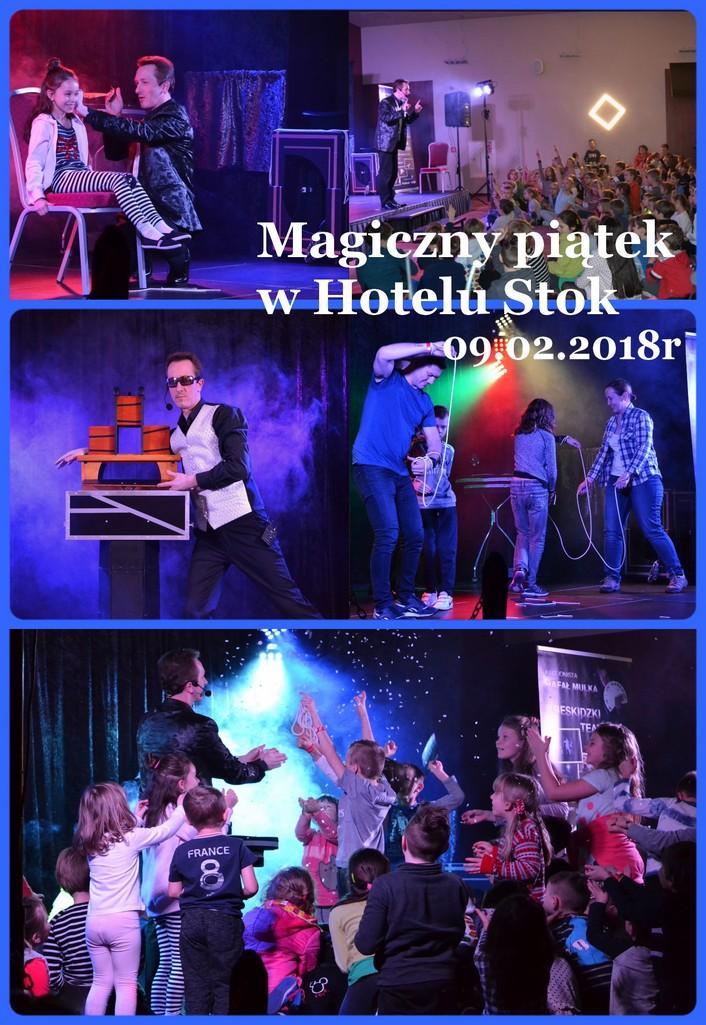 pokaz iluzjonisty hotel