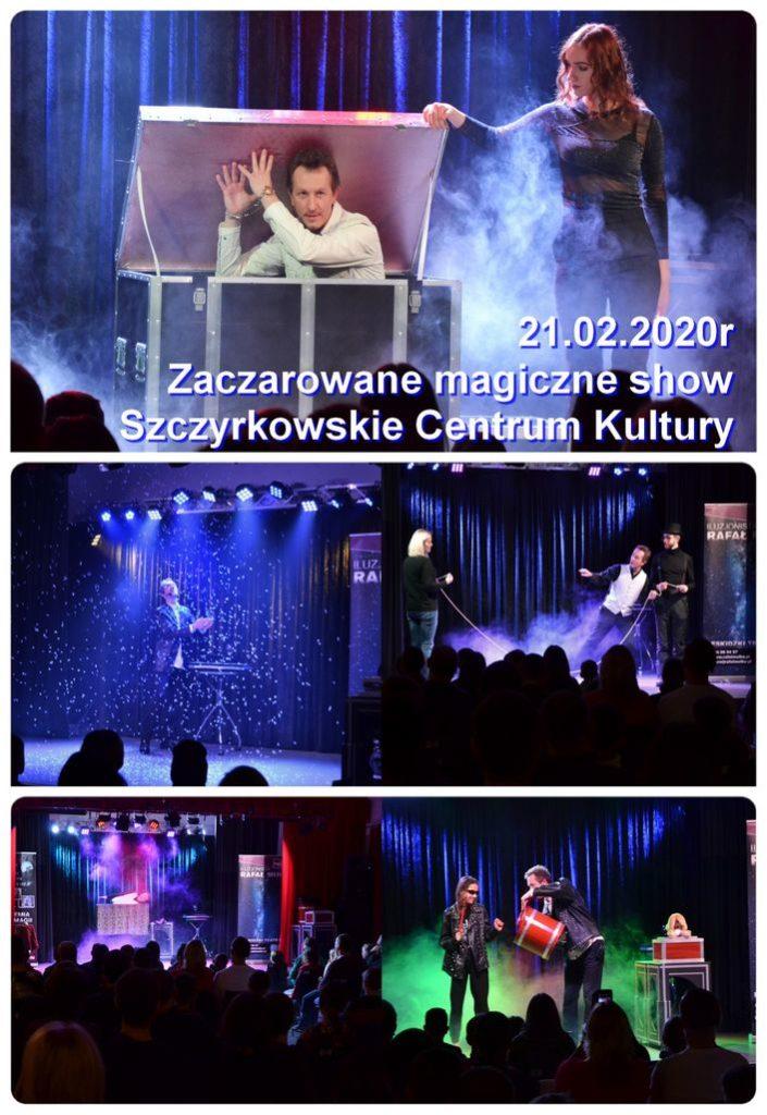 magiczne show spektakl iluzji