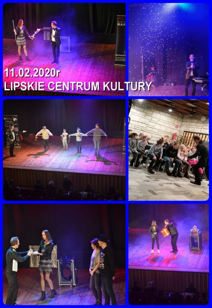 iluzjonista w centrum kultury spektakl