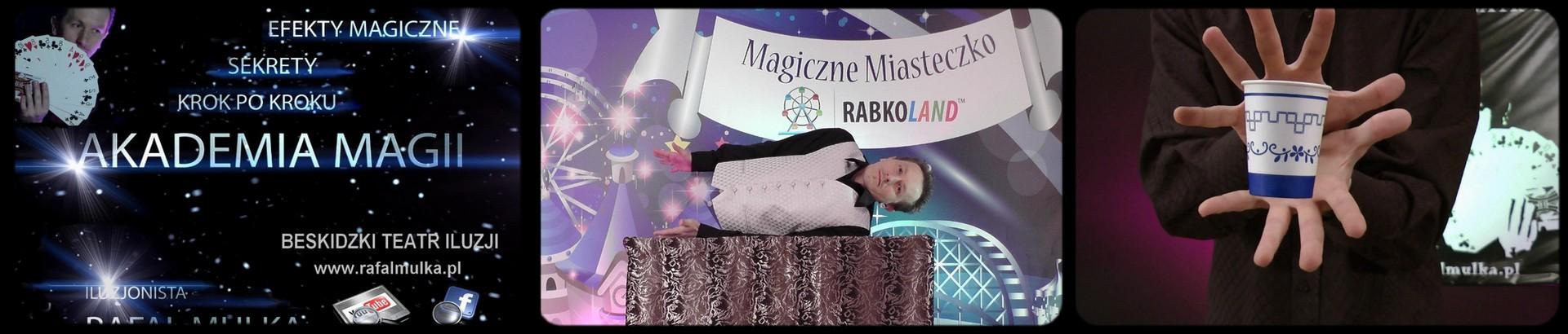 akademia magii iluzjonista rafal mulka