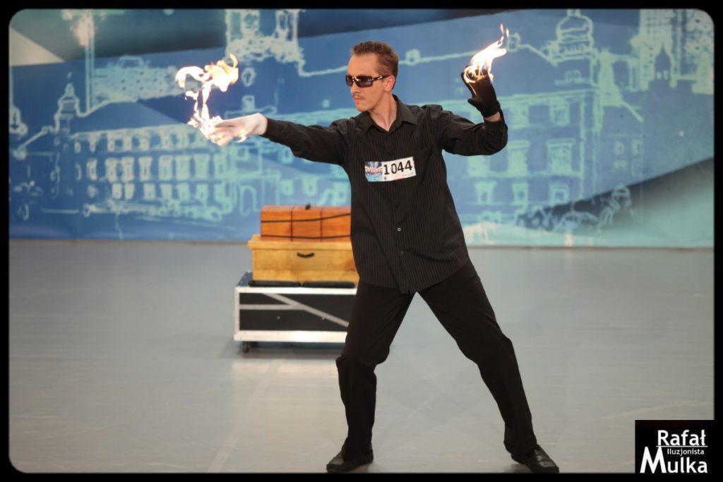iluzjonista Rafał Mulka - Mam Talent casting