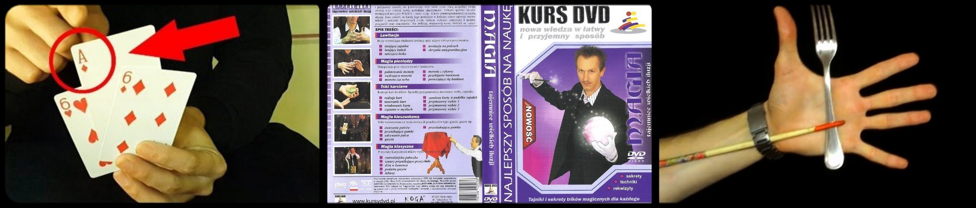 kurs magii iluzjonista dvd